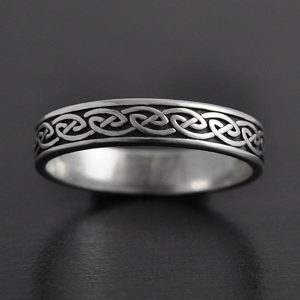 anneau entrelacs celtiques argent excalibur bijoux. Black Bedroom Furniture Sets. Home Design Ideas