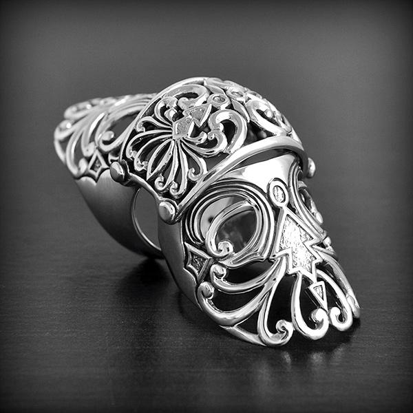 Bijoux Argent Filigrane : Bague armure argent filigrane excalibur bijoux