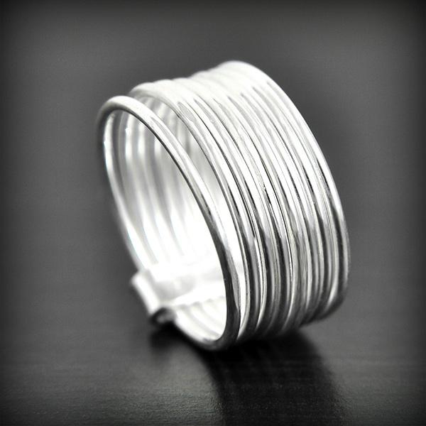 Bague anneau multiple