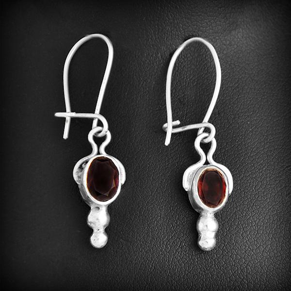 boucles d 39 oreilles argent pierre fine excalibur bijoux. Black Bedroom Furniture Sets. Home Design Ideas