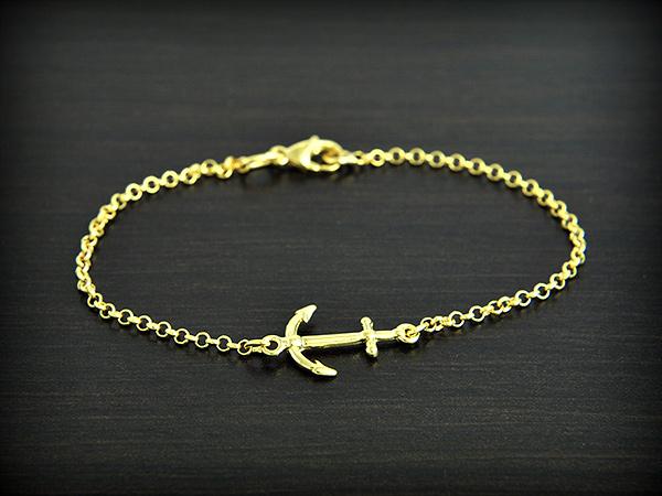 bracelet ancre marine excalibur bijoux. Black Bedroom Furniture Sets. Home Design Ideas