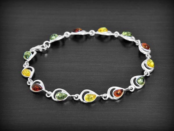 bracelet argent femme 20 cm