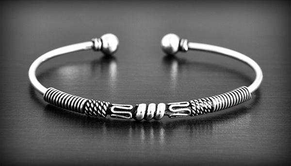 Bracelet Ethnique Argent