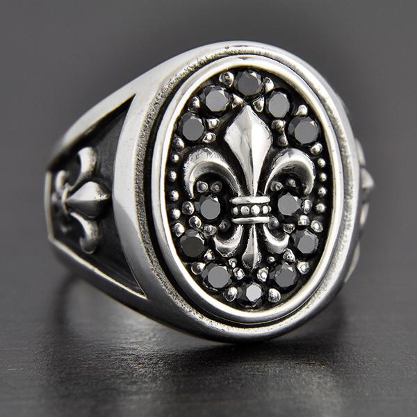 chevalière argent gareth | excalibur bijoux