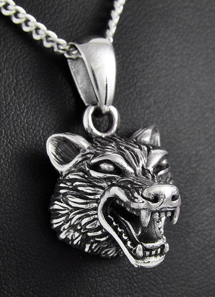 pendentif loup